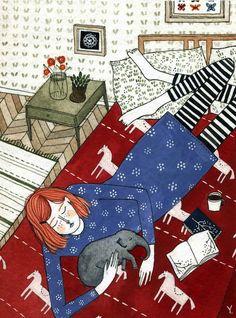 Las lectoras de Yelena Bryksenkova
