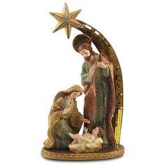 Natal - Presépio com Estrela