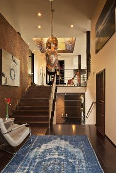 modern interior design entrance -