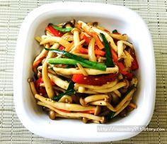 K Food, Pasta Salad, Green Beans, Fish, Vegetables, Cooking, Ethnic Recipes, Crab Pasta Salad, Kitchen