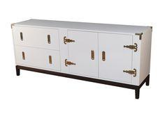 Garnet Cabinet - White
