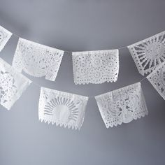 White Mexican Garlands (Pack of 2) on Provisions by Food52