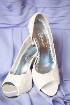 White Lace High Heel Shoes   Michaelangelo   Idalia Photography https://www.theknot.com/marketplace/idalia-photography-howell-nj-554699  