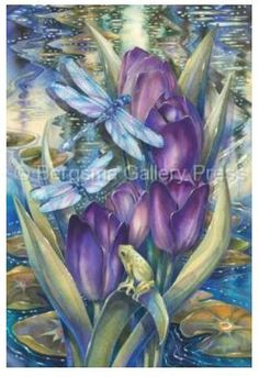 Simply Enchanted - Art Card Greeting Card  Price $4.99  http://efairies.com/simply-enchanted-art-card-greeting-card/