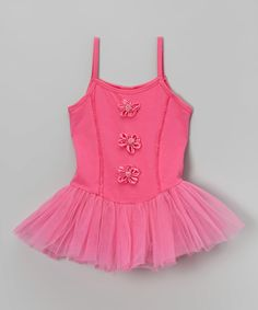 Look at this Wenchoice Hot Pink Flower Skirted Leotard - Infant, Toddler & Girls on today! My Little Girl, Little Princess, Fashion Kids, Infant Toddler, Toddler Girls, Dance Gear, Hot Pink Flowers, Ballet Clothes, Cool Kids Clothes
