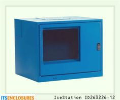 IceStation ID263226-12 computer enclosure:  Your PC would be rendered useless without your monitor! The same enemies that can harm your PC - dust and liquids, can also damage your monitor. Protect both your PC and monitor in an all-in-one NEMA rated enclosure.