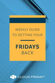 Sometimes a busy week can make Fridays feel like the most stressful day of the week instead of the start to the weekend! If you want to take your Fridays BACK - we're here to help. We're sharing our weekly productivity schedule which will help you get more done and enjoy the weekend! This daily productivity schedule will keep you motivated and turn Friday into Fri YAY! #productivity #productivityschedule #dailyproductivity