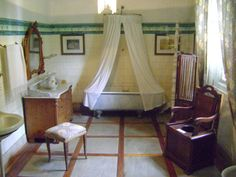 Osmar do Prado e Silva (Pu3yka) Pelotas - Bairros - Areal - Museu da Baronesa Outdoor Furniture, Outdoor Decor, Toddler Bed, Home Decor, Classic Interior, Museum, Interiors, Child Bed, Interior Design
