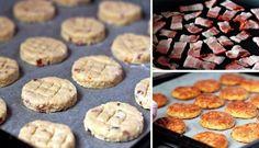 Slaninové pagáče se sýrem bez kynutí   NejRecept.cz Muffin, Breakfast, Food, Morning Coffee, Essen, Muffins, Meals, Cupcakes, Yemek