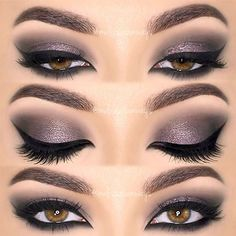 18+ Cool Makeup Looks for Hazel Eyes and a Tutorial for Dessert ★ Top Ideas of the Smokey Makeup for Hazel Eyes picture 3 ★ See more: http://glaminati.com/hazel-eyes/ #makeup #makeuplover # makeupjunkie #makeupideas #hazeleyes #eyesmakeup #makeuptutorial