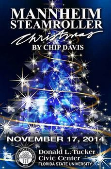 Mannheim Steamroller Christmas coming to the Donald L. Tucker Civic Center in Tallahassee on 11/17/14.