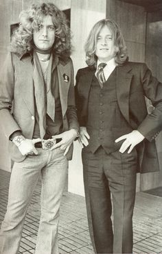 Robert Plant & John Paul Jones