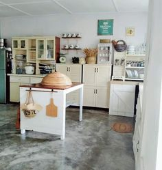 My kampunghouse farmhouse style kitchen Farmhouse Kitchen Island, Corner Desk, Furniture, Home Decor, Farmhouse Style Kitchen, Kitchen Styling, Corner Table, Decoration Home, Room Decor