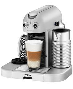 kitchen wares | adorable wall-e-esque nespresso machine  #LGLimitlessDesign #Contest