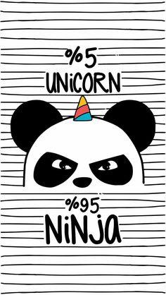 Pandacorn panda unicorn ninja