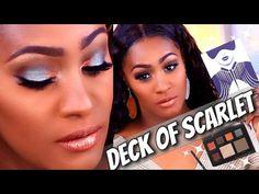 Earthy Tone Glam Makeup Tutorial with Deck of Scarlet Evon Wahab Palette | Shlinda1 – Makeup Project