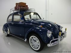 1967 VOLKSWAGEN BEETLE Volkswagen Beetle Vintage, Volkswagon Van, Car Volkswagen, Vw Camper, Porsche 356, Luggage Sets, Roof Rack, Vw Beetles, Vintage Cars