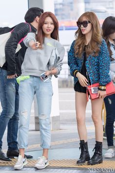 Sooyoung and tiffany