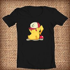 Pikachu I Choose You design shirt