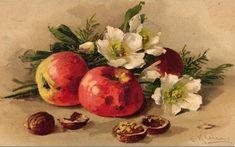 Коллекция картинок: Винтажные картинки от Catharina Klein.Натюрморты