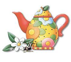 pintura tecido country Tea - Buscar con Google