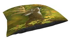 Thumbprintz Indoor/Outdoor Large Breed Pet Bed, Lucky Find Whitetail, Multi Colored >>> Quickly view this special dog product, click the image : dog beds