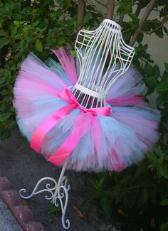 This adorable tutu is made with 75 yards of super soft tulle. Perfect for your little princess to wear for a birthday party, ballet class or just