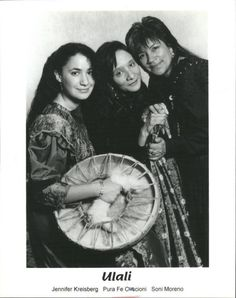 Ulali is a Native American women's acappella group. Founded in 1987, it includes Pura Fé (Tuscarora), Soni (Mayan, Apache, Yaqui), and Jennifer Kreisberg (Tuscarora).
