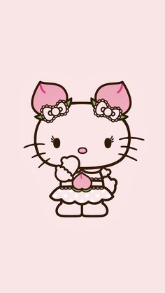 Hello Kitty Themes, Hello Kitty Pictures, Hello Kitty Backgrounds, Hello Kitty Wallpaper, Go Theme, Sanrio Wallpaper, Hello Kitty Collection, Pink Aesthetic, Girl Dolls