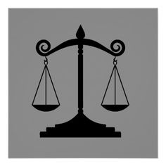 Scales of Justice Poster Justice Scale, Lady Justice, Espada Tattoo, Libra Scale Tattoo, Narnia Lion, Law Icon, Create Your Own Poster, Wiccan Spell Book, Church Stage Design