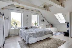 . Mellan-Grevie kyrkoväg  3 - Bjurfors Bed, Furniture, Home Decor, Stream Bed, Interior Design, Home Interior Design, Beds, Arredamento, Home Decoration