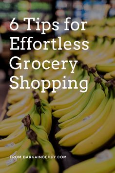 Grocery Shopping, grocery shopping on a budget