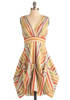 {11. top three modcloth dresses for success} Always need a colorful dress to fight an art block. #modcloth #makeitwork