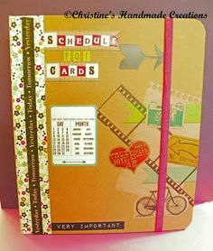 My Slice Of Life - Cool way to organize cards to send!  Love it!!!