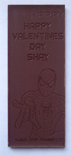 personalized laser etched candy bar    www.infinity-engraving.com