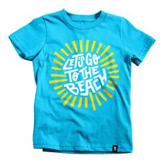 Let's Go to the Beach T-shirt - Kids - Preorder