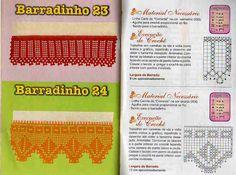 Barradinhos de crochê - claudia - Álbuns da web do Picasa