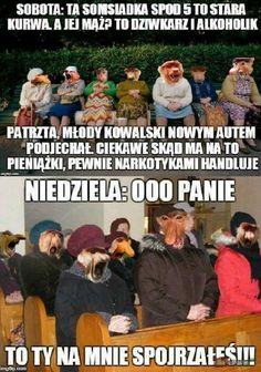 Typowa niedziela  Polacy True story Dead Memes, Dramione, Wtf Funny, Good Mood, True Stories, Poland, Haha, Humor, My Love