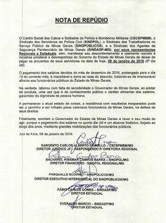 ALEXANDRE GUERREIRO: NOTA DE REPÚDIO - LÍDERES CLASSISTAS DE JUIZ DE FO...