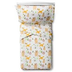 Woodland Whimsy Sheet Set - Toddler - 3 pc - Multicolor - Pillowfort™ : Target