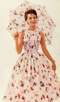 1956 : I love the dresses from these yrs. Instead of being a youngster I wish I was a teenager, 'course that would make me 10 yrs older... Maybe not. Still neat clothes and styles