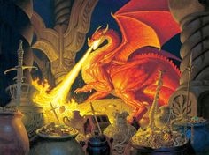Smaug, by The Brothers Hildebrandt