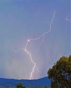 A lightning shot over Mt Duval Armidale NSW by JudiKenny http://flic.kr/p/NyR6Ss