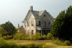 Abandoned House at Jenkins Creek near Crisfield, Maryland