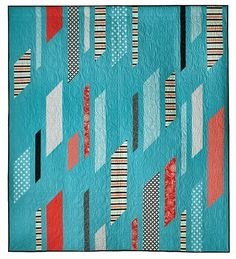 Wind Chime quilt, in: Quick column Quilts by Nancy Zieman. Featured by Pat Sloan.
