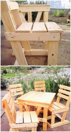 Making a fine set of furniture is also possible, using the wooden pallet and the below picture is also a proof of it. Making the best furniture that you can place anywhere in the home is also possible using the wooden pallet, what best you can make can be easily seen in the below picture.