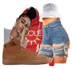 """jcole"" by lifeofaaliyah ❤ liked on Polyvore featuring CO and NIKE"