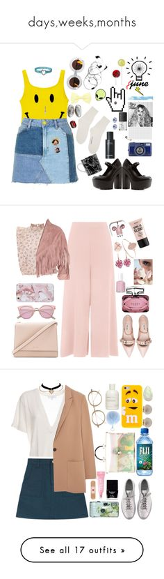"""days,weeks,months"" by gb041112 ❤ liked on Polyvore featuring Rachel Zoe, Topshop, Blue Blood, C.R.A.F.T., Universal Lighting and Decor, Mother of Pearl, Karen Walker, Comme des Garçons, NARS Cosmetics and Monsoon"