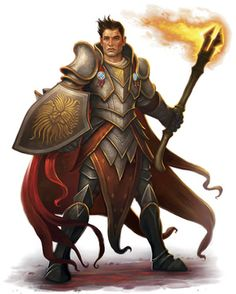 Paladin of pelor #Paladin #Fighter #Human