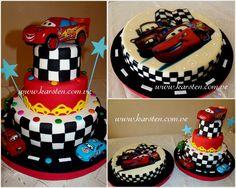 Torta y Gelatina de Cars